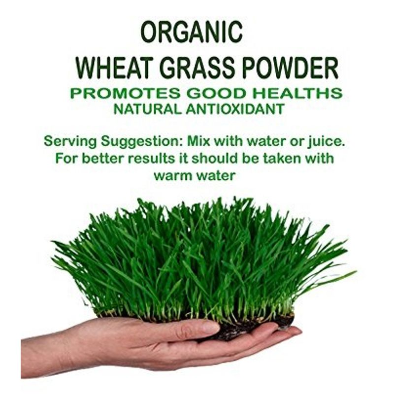 NutraVigour Organic Wheat Grass Powder