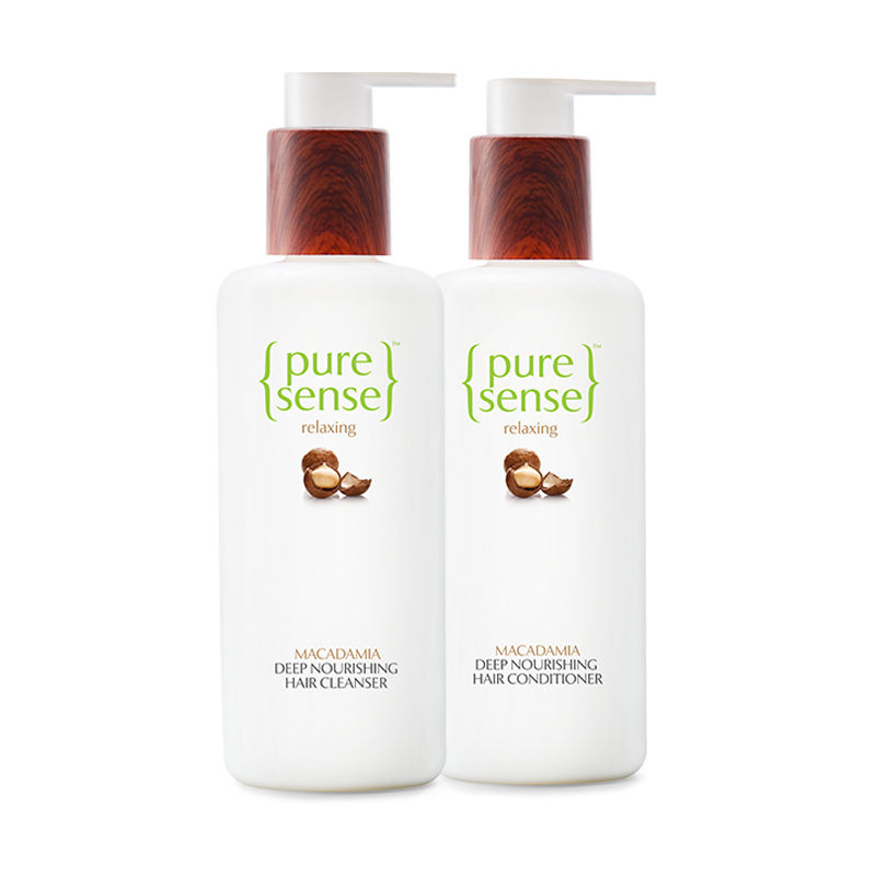 PureSense Deep Nourishing Hair Treatment Cleanser + Conditioner Combo Sulphate And Paraben Free
