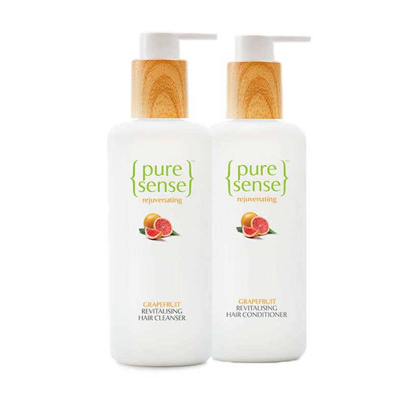PureSense Revitalising Hair Treatment Cleanser + Conditioner Combo Sulphate And Paraben Free