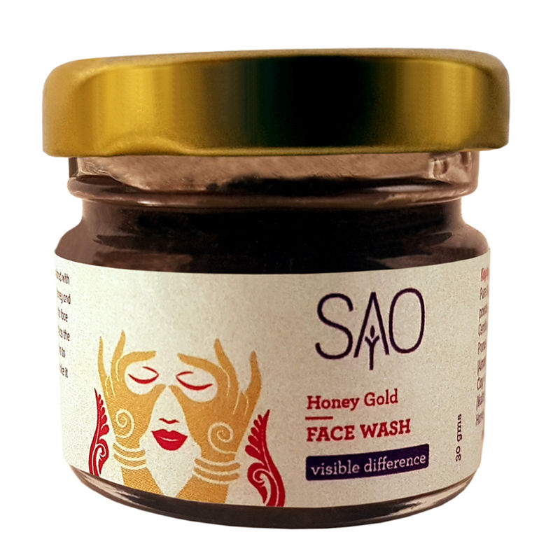 SAO Honey Gold Face Wash (Visible Difference)