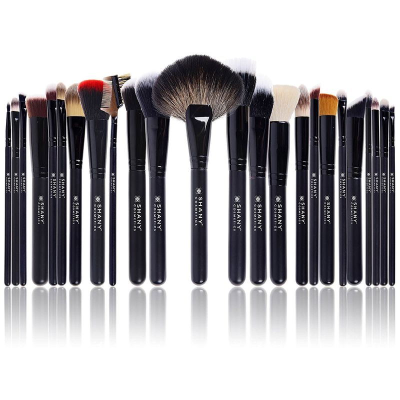 Shany The Signature Collection Brush Set 24 Pcs Professional Set With Leatherette Pouch
