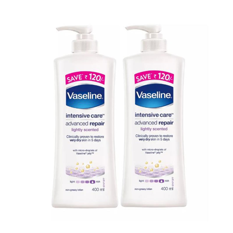 Vaseline Intensive Care Advanced Repair Body Lotion (Pack Of 2)
