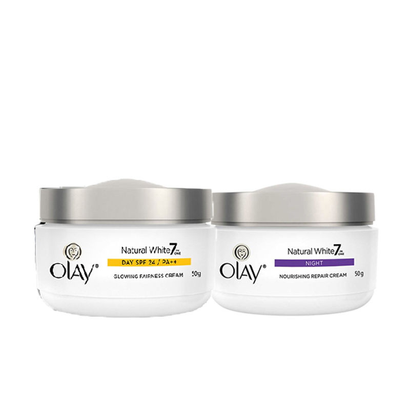 Olay Natural White Day And Night Regime