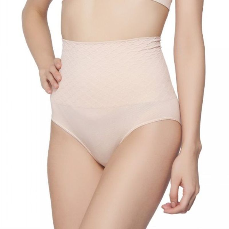 c10e7ee8c2 C9 Airwear High Control Low Waist Nude Shapewear For Women at Nykaa.com