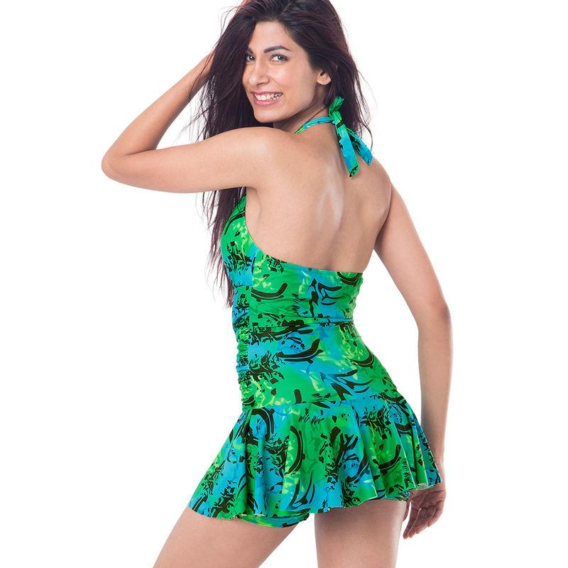 31152477e8 Buy PrettySecrets Ruched Skirted Swimsuit - Green