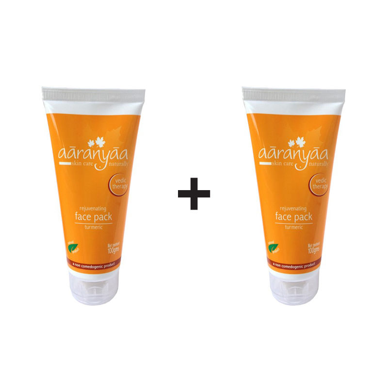 Aaranyaa Rejuvenating Face Pack Turmeric (Buy 1 Get 1 Free)