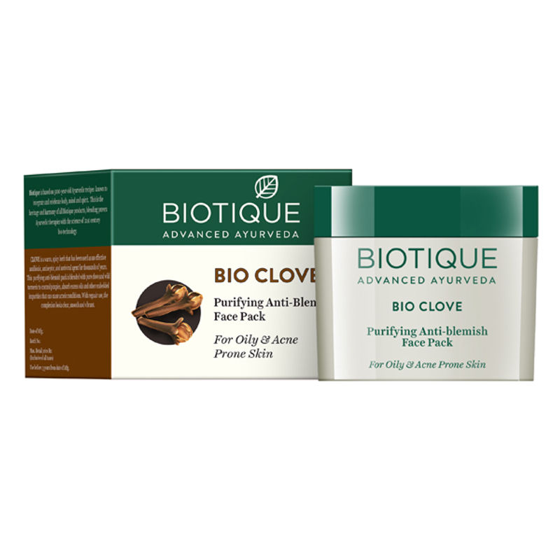 Biotique Bio Clove Purifying Anti- Blemish Face Pack