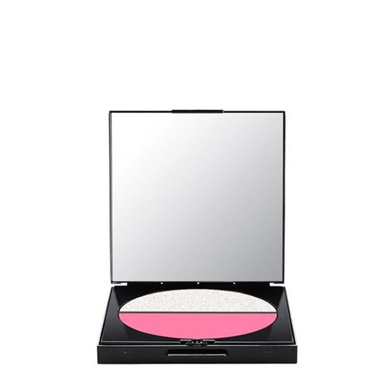 M.A.C Eye Shadow Duo / Fortune Duo - Lotus Pink - Platinum Shadow
