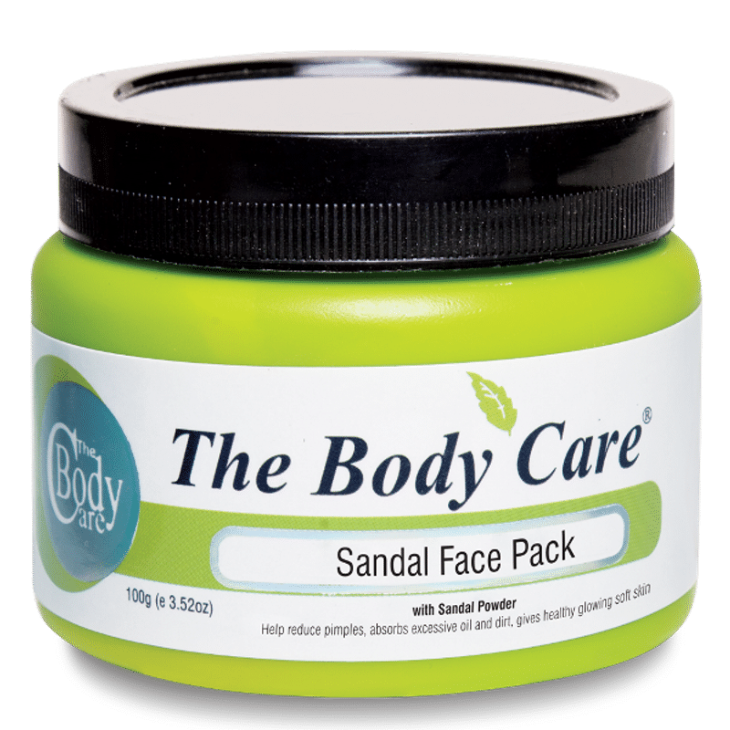 The Body Care Sandal Face Pack