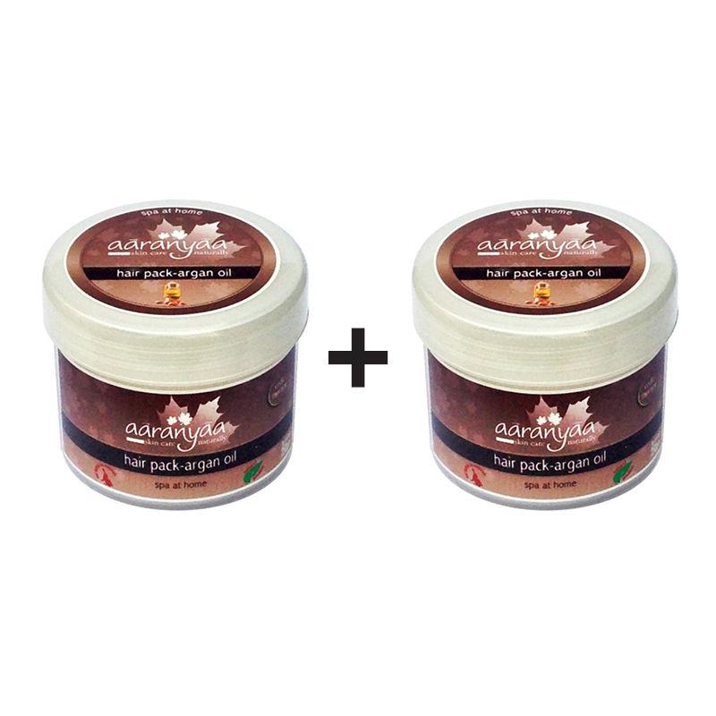 Aaranyaa Hair Pack - Argan Oil (Buy 1 Get 1 Free)