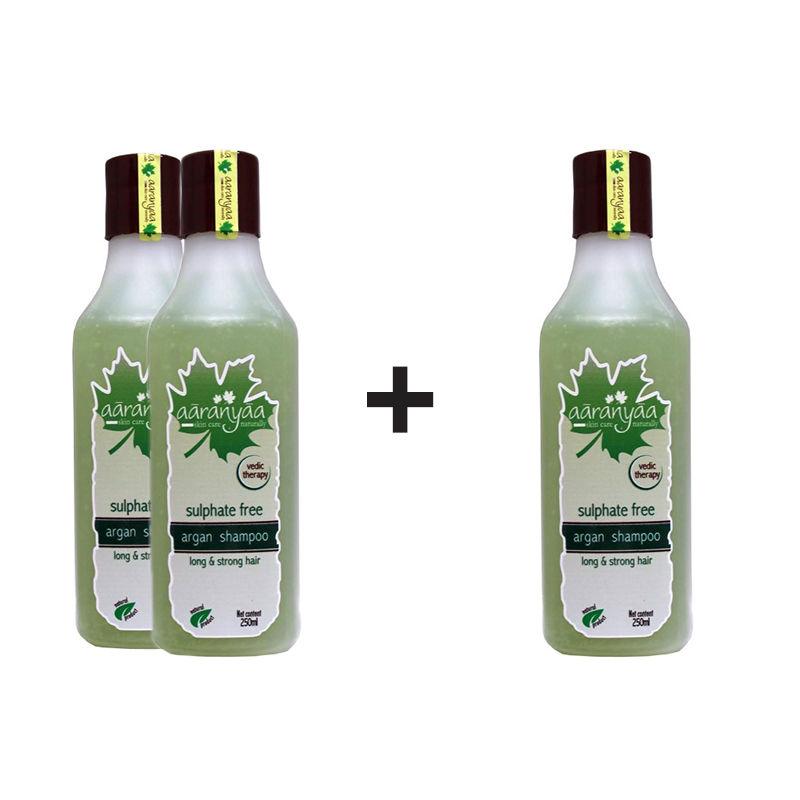 Aaranyaa Sulphate Free Argan Shampoo (Buy 2 Get 1 Free)