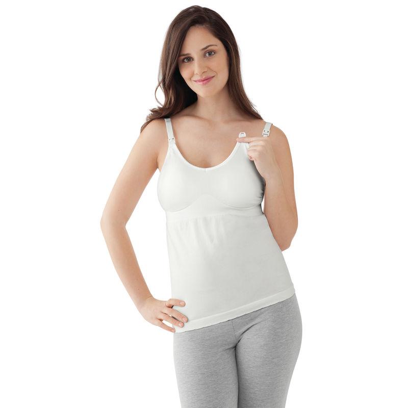Medela Maternity & Nursing Tank Top - White S/M