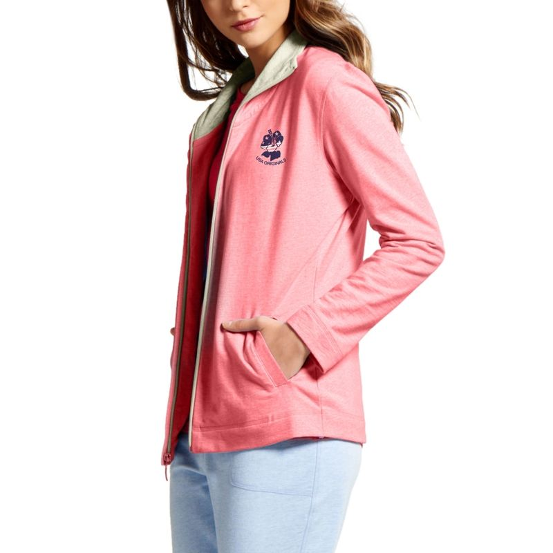 d4bddce7cfd Jockey Passion Red Melange Fastening Jacket at Nykaa.com