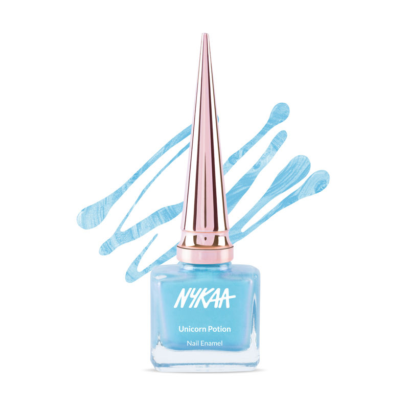 90425712ba870 Nykaa Unicorn Potion Nail Enamel - Mystical Mermaid