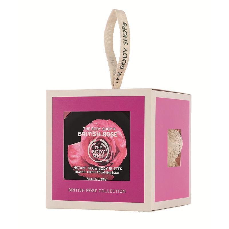 The Body Shop Cube British Rose Giftset - E590460919