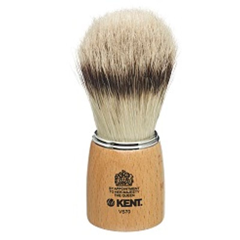Kent Woodens Socket Large Pure Bristle Badger Effect Shaving Brush