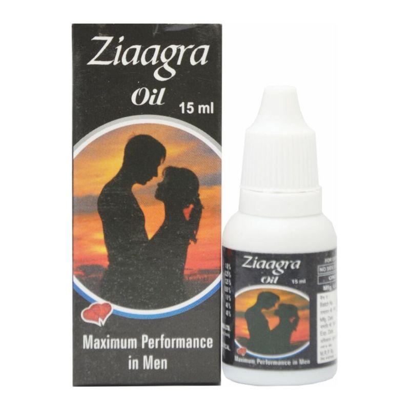West Coast Ziaagra Massage Oil For Men