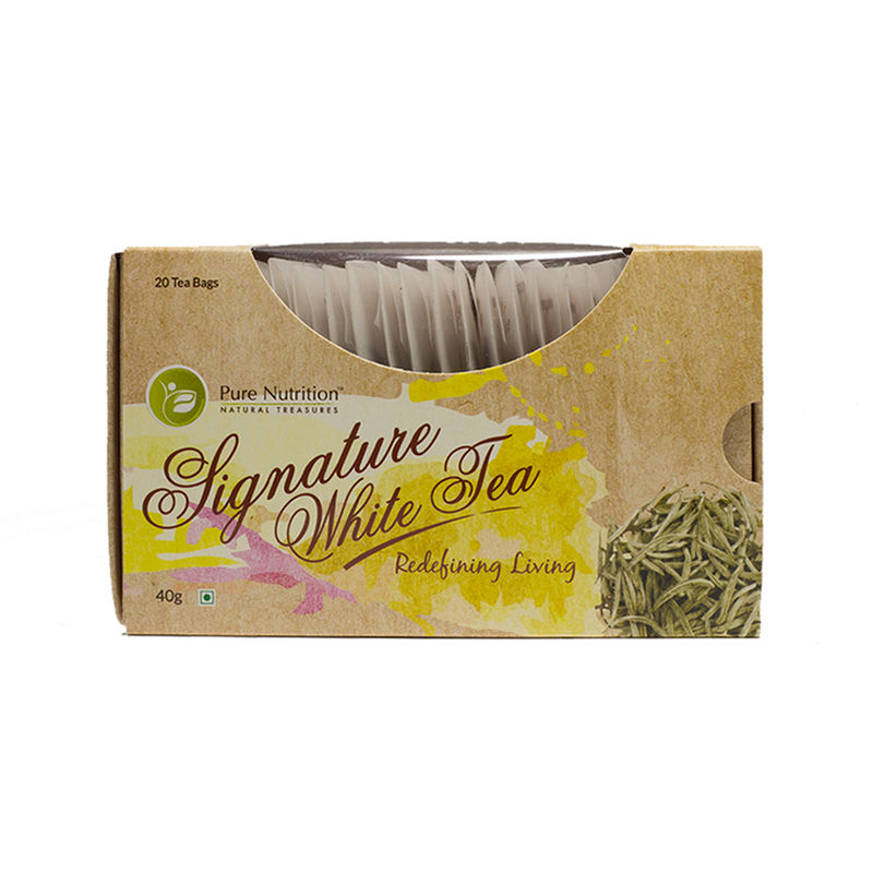 Pure Nutrition Signature White Tea Bags