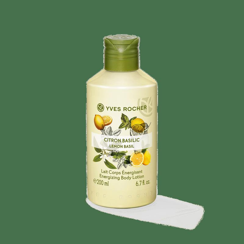 Yves Rocher Energizing Body Lotion - Lemon Basil