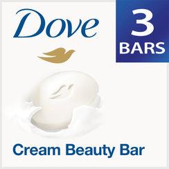 Dove Cream Beauty Bathing Bar (Pack of 3)
