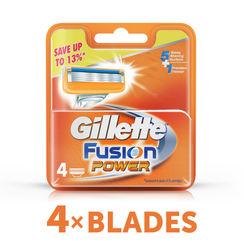 Gillette Fusion Power shaving Razor Blades (Cartridge) 4s pack