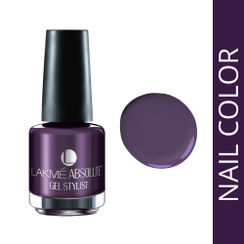 Lakme Absolute Gel Stylist Nail Polish - Purple Orchid