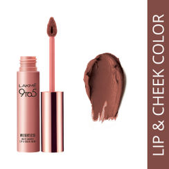 Lakme 9 to 5 Weightless Matte Mousse Lip & Cheek Color - Coffee Lite