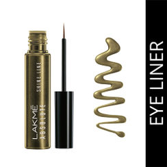 Lakme Absolute Shine Line Eye Liner - Liquid Gold