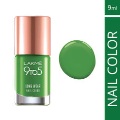 Lakme 9 to 5 Long Wear Nail Color - Green Chic