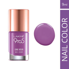 Lakme 9 to 5 Long Wear Nail Color - Lilac Link