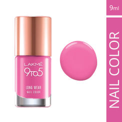 Lakme 9 to 5 Long Wear Nail Color - Pink Case