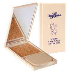 Diana Of London 2 Way Pan Cake Powder - 114 Deep Rose