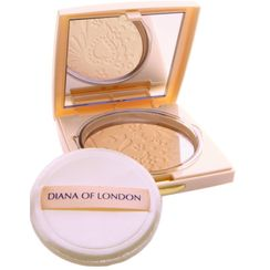 Diana Of London Absolute Stay Compact Face Powder - 402 Fresh Coral