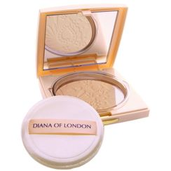 Diana Of London Absolute Stay Compact Face Powder - 403 Pure Rose