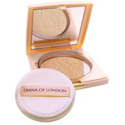 Diana Of London Absolute Stay Compact Face Powder - 404 Nude Rose