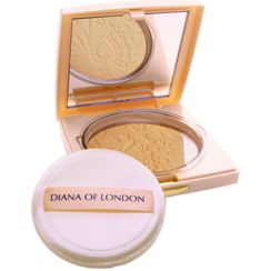 Diana Of London Absolute Stay Compact Face Powder - 406 Natural Almond