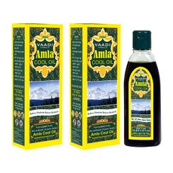 Vaadi Herbals Value Pack Of 2 Amla Cool Oil With Brahmi & Amla Extract