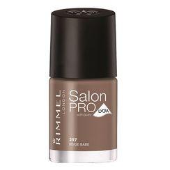 Rimmel Salon Pro Nail Color With Avec Lycra - 397 Beige Babe
