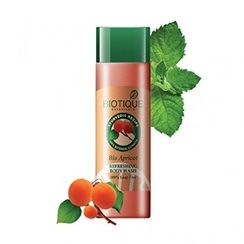 Biotique Bio Apricot Refreshing Body Wash 100% Soap Free
