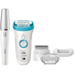 Braun Silk-Epil 9 9 - 558 Bonus Edition - Wet & Dry Cordless Epilator