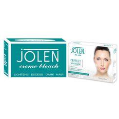 Jolen Crme Bleach + Free Perfect Whitening De-Pigmention Kit