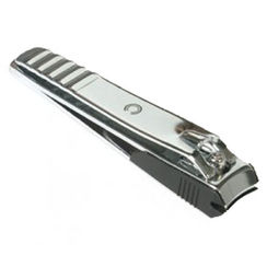Basicare Toe Nail Clipper - Curved Blade With Catcher
