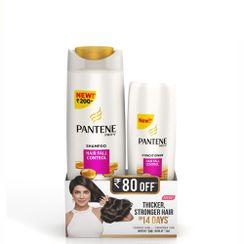 Pantene Pro-V Hair Fall Control Shampoo with Conditioner(Rs. 80 Off)