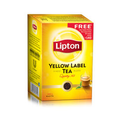 Lipton Yellow Label Finest Tea Blend + Free Lipton Green Tea Lemon Zest - 25s Pack (Worth Rs.140/-)