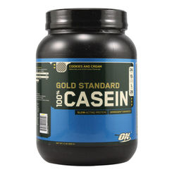 Optimum Nutrition Gold Standard 100% Casein Cookies & Cream - 2 lbs