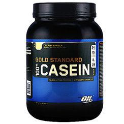Optimum Nutrition Gold Standard 100% Casein Creamy Vanilla - 2 lbs