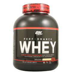 Optimum Nutrition Performance Whey Vanilla Shake - 4.3 lbs