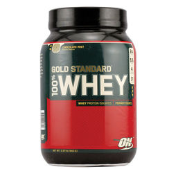 Optimum Nutrition Gold Standard 100% Whey Chocolate Mint - 2.07 lbs