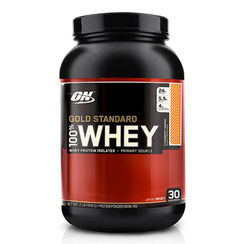 Optimum Nutrition Gold Standard 100% Whey Strawberry Banana - 2 lbs