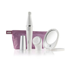 Braun Face 830 Premium Edition - Facial Epilator & Facial Cleansing Brush